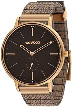 WeWood Men's Analogue Quartz Watch with Wood Strap WW63004