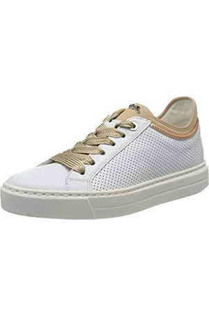 ARA Women's Courtyard Low-Top Sneakers, (Weiss, Rosegold/Puder 08)