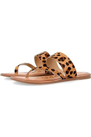 GIOSEPPO Women's Stovall Open Toe Sandals, (Leopard Leopardo)