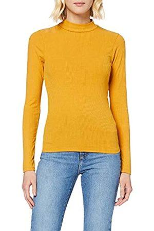 New Look Women's LS Rib Turtle Neck Shirt