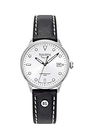 Bruno Söhnle Mens Analogue Quartz Watch with Real Leather Strap 17-13183-291