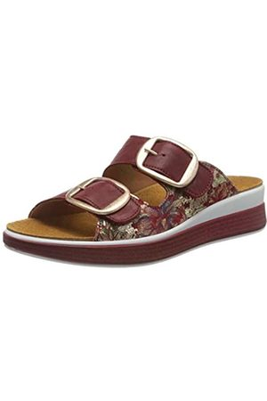 Think! Women's 686443_Meggie Closed Toe Sandals, (Cherry/Kombi 74)