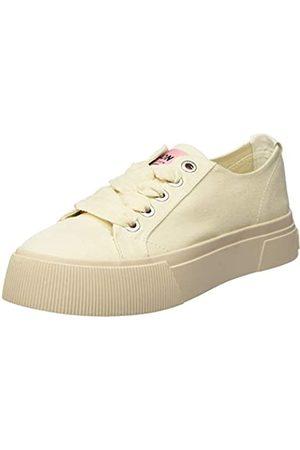 SCOTCH & SODA FOOTWEAR Women's Zadie Low-Top Sneakers, (Ecru S213)
