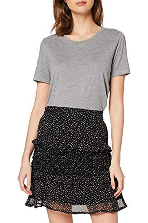 Dorothy Perkins Women's Squiggle Print Ruffle Mini Skirt