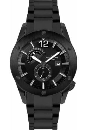 JACQUES LEMANS Men's Analogue Quartz Watch with Silicone Strap 1-1765I