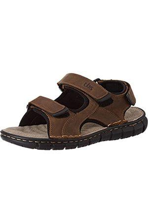 TBS Men's Strapss Ankle Strap Sandals, (Bronze H8251)