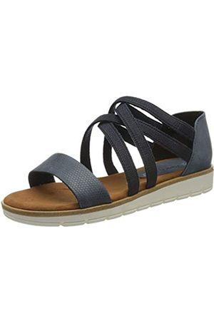 Marco Tozzi Women's 2-2-28634-24 Ankle Strap Sandals, (Ocean 803)