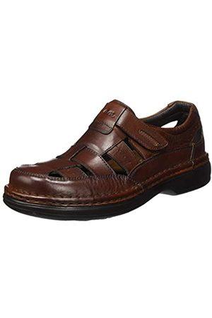 ARA Men's Ben 1117116 Closed Toe Sandals, (Cognac 07)