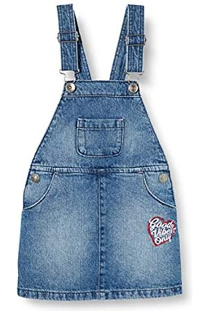 United Colors of Benetton Baby Girls' Gonna Salopette Dungarees