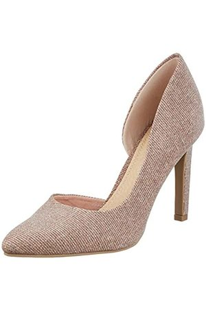 Marco Tozzi Women's 2-2-22447-24 Closed Toe Heels, (Rose Metallic 592)