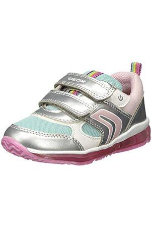 Geox Baby Girls' B TODO B Low-Top Sneakers, ( /Aqua C1w4a)