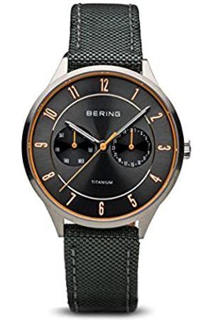 Bering Men's Analogue Quartz Watch with Textile Strap 11539-879