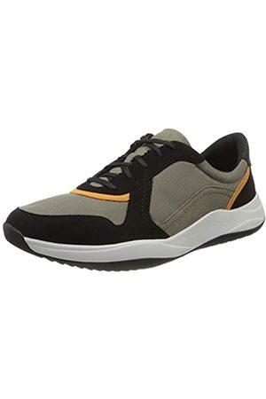 Clarks Men's Sift Speed Low-Top Sneakers, (Sage Combi Sage Combi)