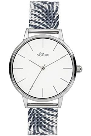 s.Oliver Quartz Watch with Stainless Steel Strap SO-3977-MQ