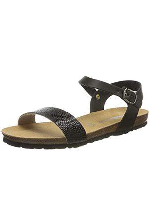 Rohde Women's Asti Ankle Strap Sandals, (Schwarz 90)