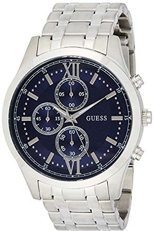Guess Mens Chronograph Quartz Watch with Stainless Steel Strap W0875G1