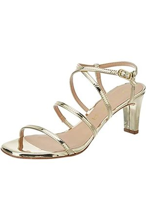 unisa Women's Mimo_sp Open Toe Sandals, (Platino Platino)