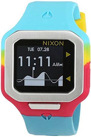 Nixon Unisex Quartz Watch Digital Display and Silicone Strap A3162005-00