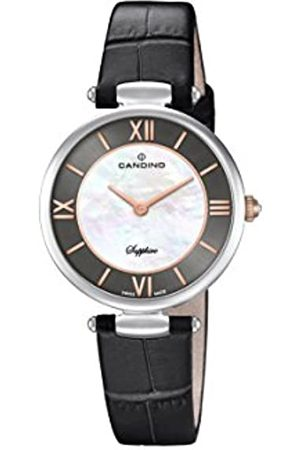 Candino Womens Analogue Classic Quartz Watch with Leather Strap C4669/2