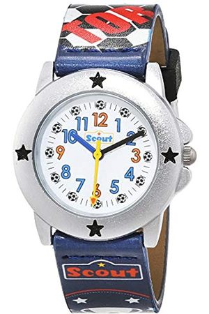 Scout Boy's Analogue Quartz Watch with Plastic Band Strap 1