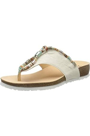 Think! Women's 686336_Julia Flip Flops, (Ivory/Kombi 94)
