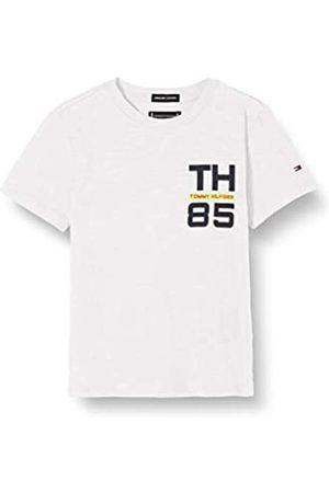 Tommy Hilfiger Boy's TH85 Logo TEE S/S T - Shirt