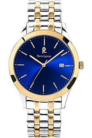 Pierre Lannier Mens Analogue Quartz Watch with Stainless Steel Strap 247G061