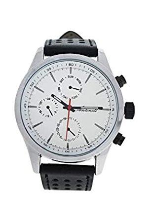 Antoneli Unisex Adult Analogue Quartz Watch with Leather Strap AG0308-01