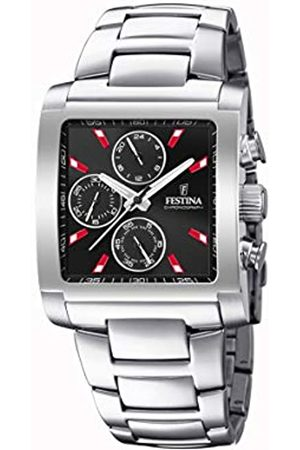 Festina Mens Chronograph Quartz Watch with Stainless Steel Strap F20423/8