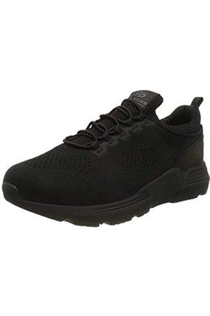 Dockers Men's 46fz001-706100 Low-Top Sneakers, (Schwarz 100)
