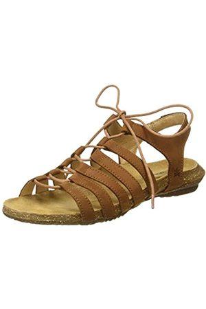 El Naturalista Women's N5069 Pleasant Wakataua Open Toe Sandals, (Wood Wood)