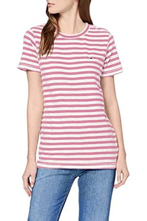 Tommy Jeans Women's TJW Textured Stripe TEE Sports Knitwear