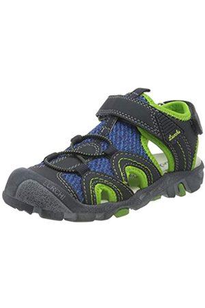Lurchi Boys' Vento Closed Toe Sandals, (Navy 32)