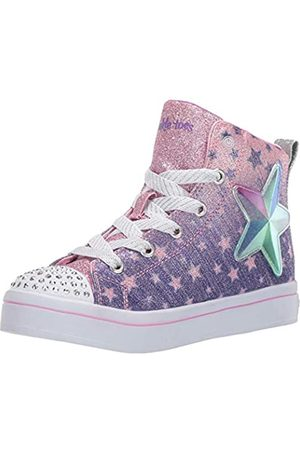 Skechers Girls' TWI-Lites Hi-Top Trainers
