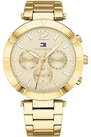 Tommy Hilfiger Unisex-Adult Multi dial Quartz Watch with Stainless Steel Strap 1781878