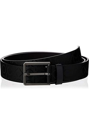 Calvin Klein Men's 3.5cm Industrial Monogram Belt