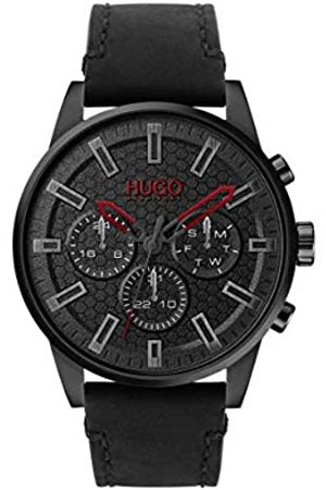 HUGO BOSS Men's Analogue Quartz Watch with Leather Strap 1530149