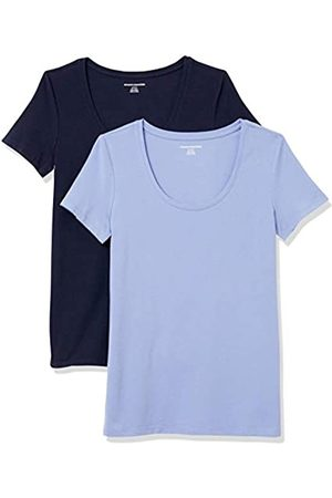 Amazon 2-Pack Classic-fit Short-Sleeve Scoopneck T-Shirt
