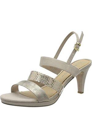 Marco Tozzi Women's 2-2-28334-24 Ankle Strap Sandals, (Dune Comb 435)