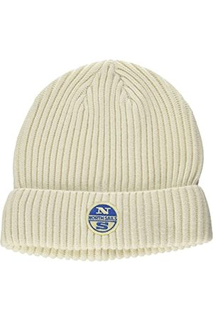 North Sails Men's Beanie W/Logo (Ice 0103)
