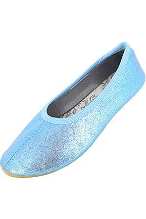 Beck Basic, Girls' Gymnastics Gymnastics Shoes, (hellblau 04)