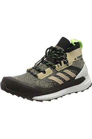 adidas Men's Terrex Free Hiker Walking Shoe, Savann/CBLACK/SIGGNR
