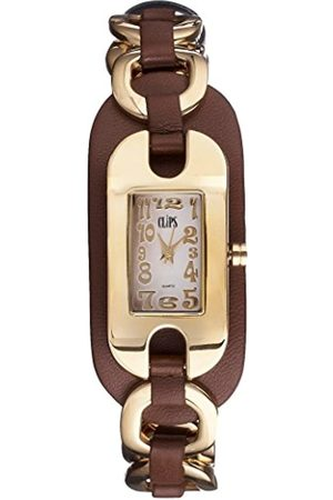 CLIPS Women's Quartz Watch with Dial and Leather Strap 553-1003-83