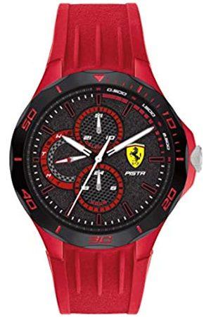 Scuderia Ferrari Men's Analogue Quartz Watch with Silicone Strap 0830723