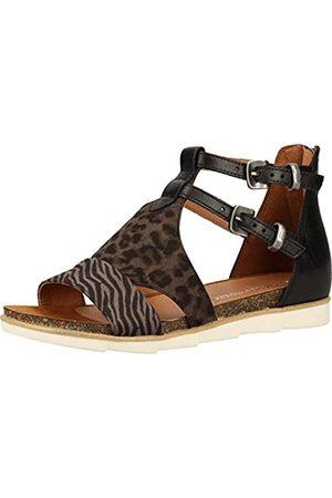 Marco Tozzi Women's 2-2-28430-24 Ankle Strap Sandals, ( Comb 098)