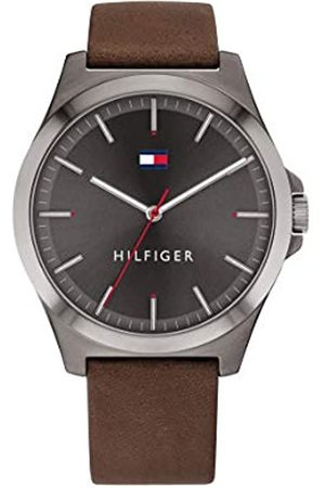 Tommy Hilfiger Men's Analogue Quartz Watch with Leather Strap 1791717