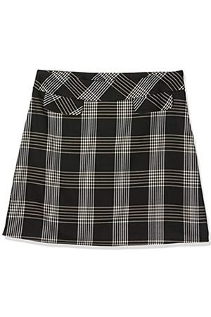 Dorothy Perkins Women's and Camel Check Mini Skirt