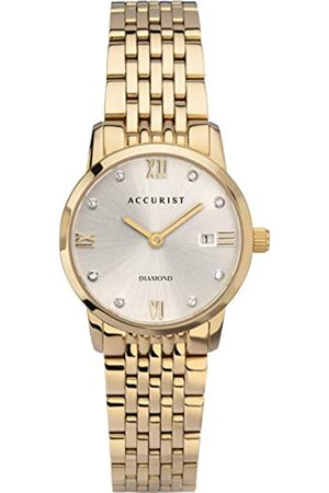 Accurist Women's Analogue Japanese Quartz Watch with Stainless Steel Strap 8353