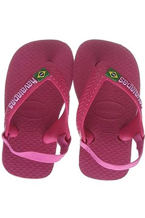 Havaianas Brasil Logo II, Unisex Baby's Flip Flops, (Tulip)