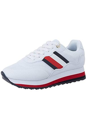 Tommy Hilfiger Women's Sporty Tommy Retro Runner Low-Top Sneakers, ( Ybs)
